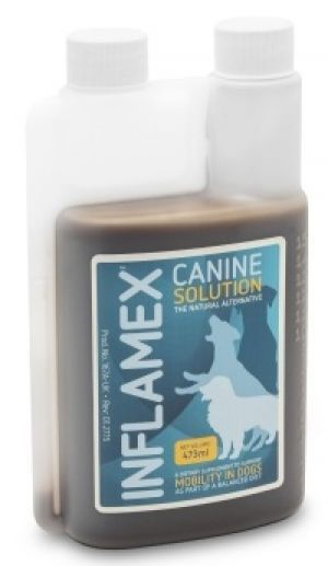EQUINE AMERICA - Canine Inflamex Solution H1- 473 ml