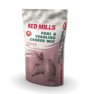 RED MILLS - 18% Foal & Yearling Cooked Mix H1- Saco 20 kg