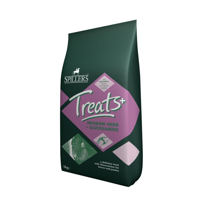 SPILLERS - Meadowherb Treats Herb + Glucosamine Golosinas H1 - 1 Kg