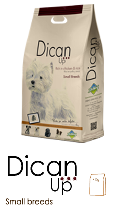 DICAN UP Small breeds - Envase 3 kg
